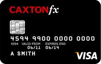 Caxton Euro currency card